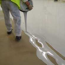 Interior 3D clear epoxy floor paint