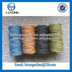 new product twisted hemp rope 3-strand jute natural jute rope