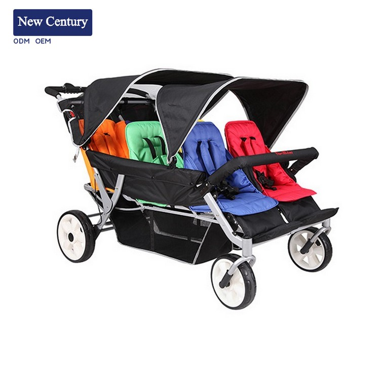 NEW CENTURY Plastic stroler cheap new pram foldable baby buggy made in China