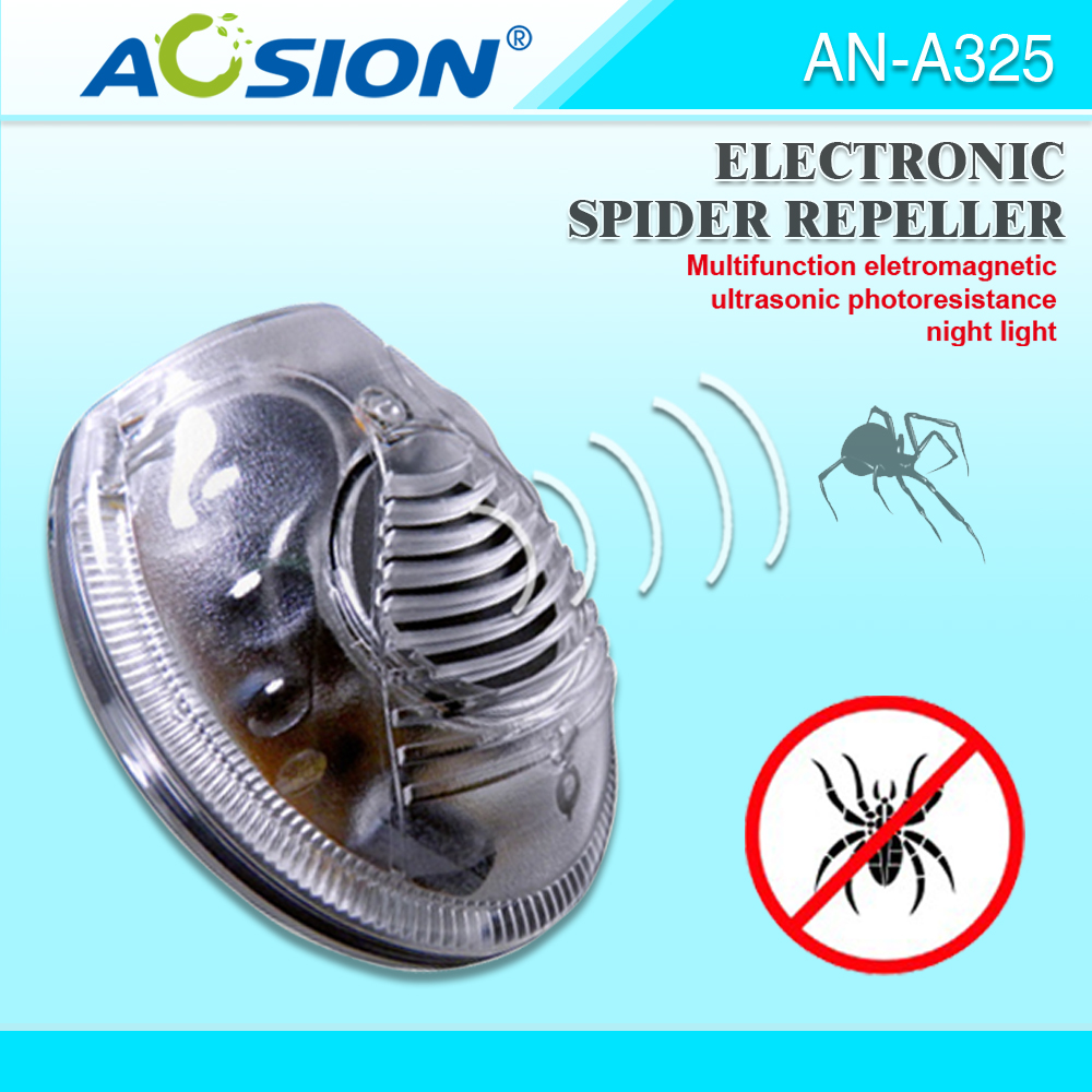 Ultrasonic and Electromagnetic Spider Catcher