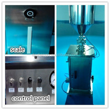 Vertical cream filling machine semi-automatic filler small capacity filling equipment for packing line