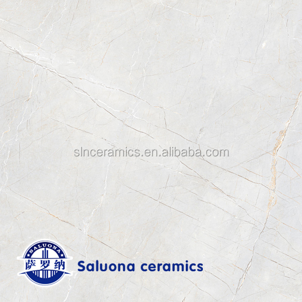 super flat polished glazed porcelain floor tile for hotel floor (L-1134)