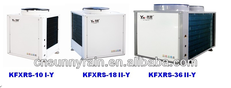 2014 New Design Split Air Source Heat Pump