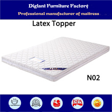 Healthy & comfortable 100% natural latex mattress topper (N02)