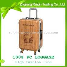 Bamboo Spinner Luggage