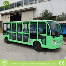 China best price 23 seater fuel sightseeing tour passenger bus