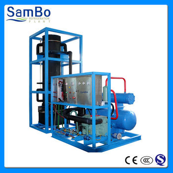 30T per day large Industrial tube ice plants machine
