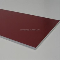 decorative composite material/aluminium curtain wall panel