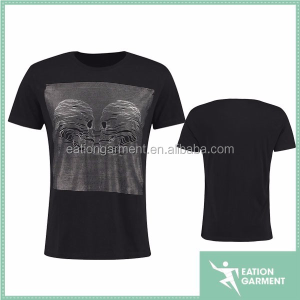 Wholesale blank black short sleeve 1 dollar t shirts for men