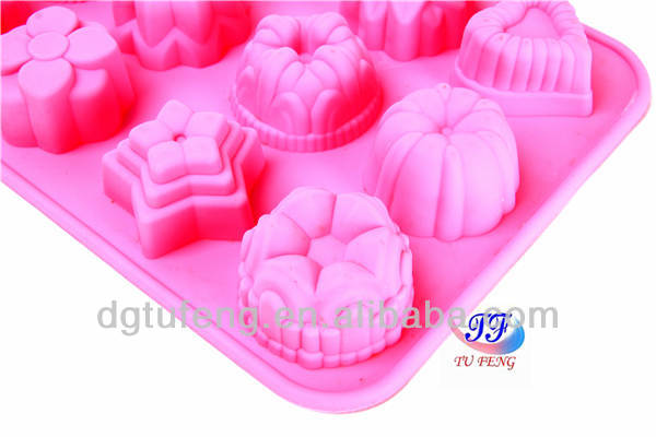 High quality silicone bread baking molds for cake tools