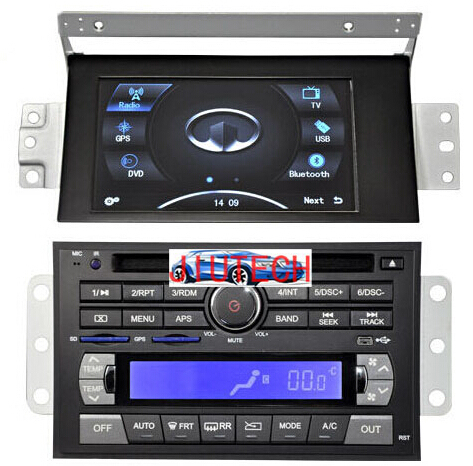 Car GPS Navigation System Multimedia Sat Nav GPS Headunit DVD Player for Great Wall Hover