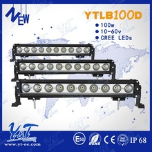 Factory dircetly sales waterproof amber led light bar cheap chinese led headlight bars auto parts led light