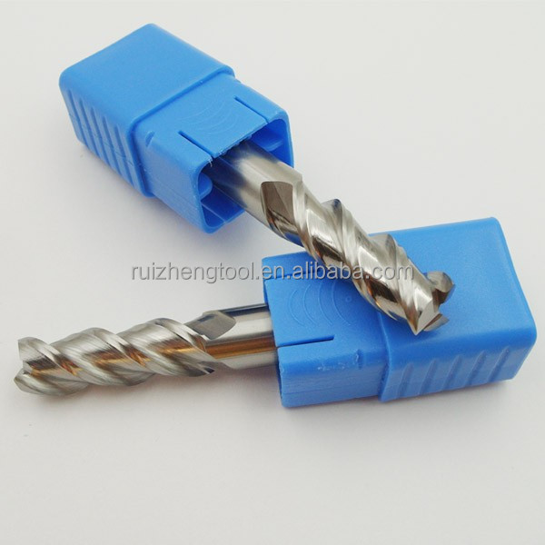 Solid Carbide Aluminum TIALN- coated End Mill/CNC Milling Cutter/Router Bits