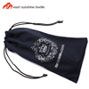 Microfiber spectacle double side drawstring bag with personalized logo