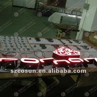led frontlit channel letter sign logo, electronics signs, electronic led panel sign,