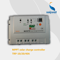 Saip/Saipwell high efficiency mppt solar battery charge controller 12v 24v 48v