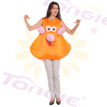 Cartoon Character Halloween Mascot Costumes Adult Pumpkin Mascot Costume