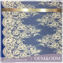 Multi - color custom new lace deisgns lacetape guipure tulle border lace trim for kimono