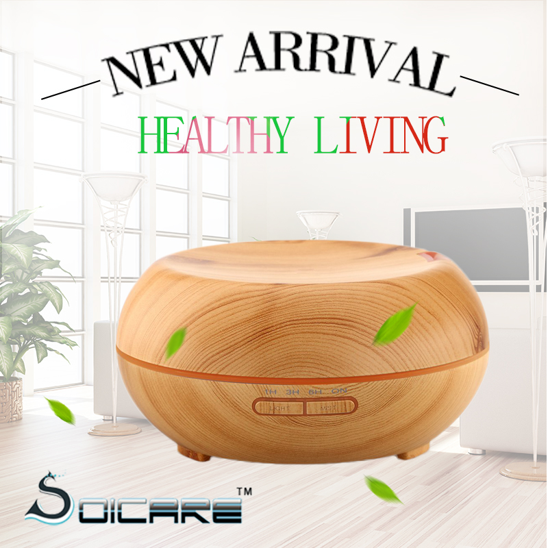 SOICARE Your personal life health manager <strong>electric</strong> aromatherapy diffuser