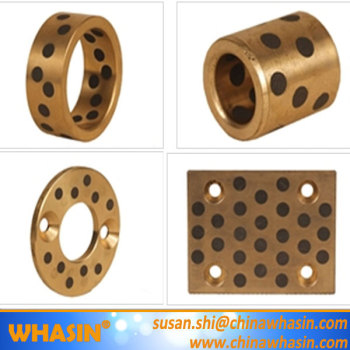 JTW Graphite Lubricating Bronze Washer Cast Bronze Thrust Washer Bearing Pad Slide Plate JDB-10 Solid Brass Bushing