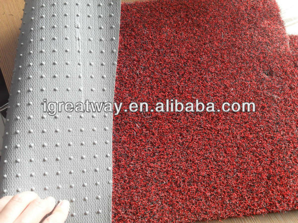 vinyl flooring pvc backed coir mat pvc mat roll