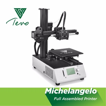 TEVO Michelangelo 3D Printer Impresora 3D high quality assembled 3D Printer Kit 3d printing machine