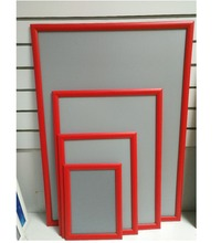 Red snap frame 70*100,advertising picture frame colorful snap frame a5