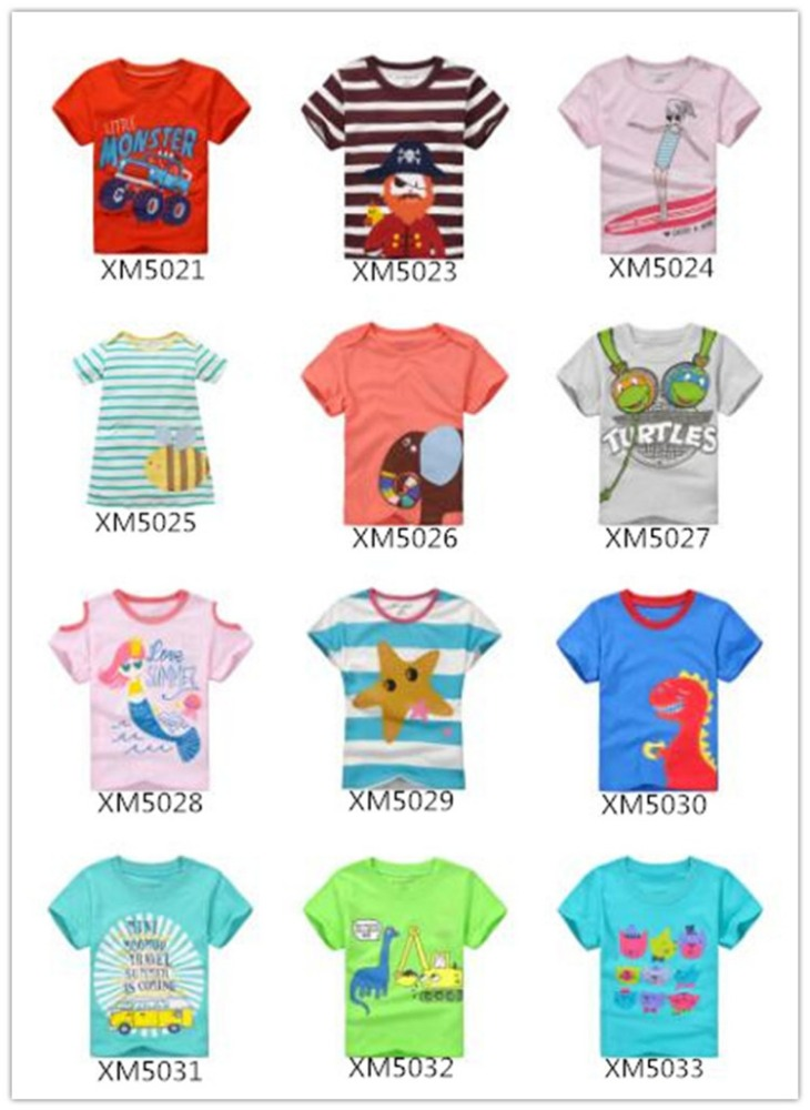 new design OEM service cotton boy t shirt for baby