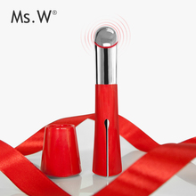 Ms.W 2017 Trending Beauty Care Products Distributor Wanted Anti-Aging Anti-Wrinkle Pen Shape Electric Heated Eye Care Massager