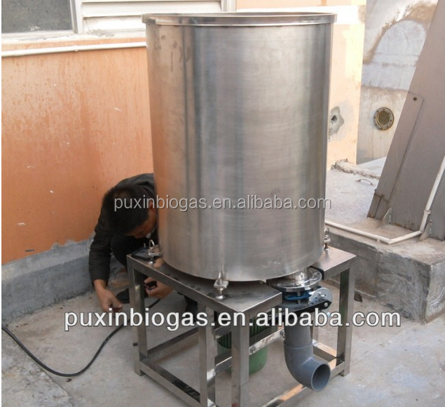 Puxin CE certified 1 ton per hour commercialized food waste disposer