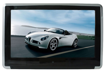 Ipad design 10.1 inch super slim back seat tv for car
