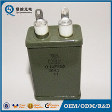 High energy high voltage surge capacitor, 10uf 6uf 4uf 2uf 1uf 3kv capacitor