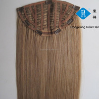 Cheap wholesale price double drawn virgin remy 3/4 human hair half wigs