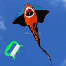single line shark cheap kites
