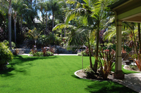 Easy Drainage natural landscaping grass artificial grass landscaping