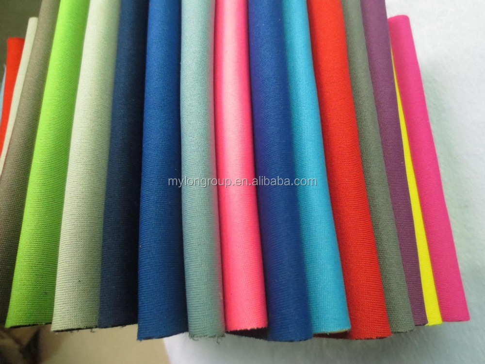 Lycra fabric with foam