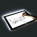 A4 .A3 Portable LED Drawing Board Copy Pad Eyesight Protected Touch Dimmable Tracing Table Light Pad