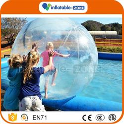 New design uk inflatable floating water walking ball beautiful different colors inflatable water balls