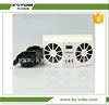 Green power ventilation exhaust solar powered car fan