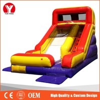 Outdoor inflatable slides/large outdoor slide/giant inflatable slide for sale