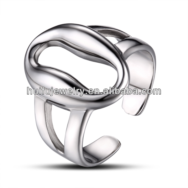 Casting high polishing stainless steel 316L cz rings thailand