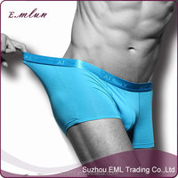 Brand new design top sells Men modal sexy solid color boxers brief