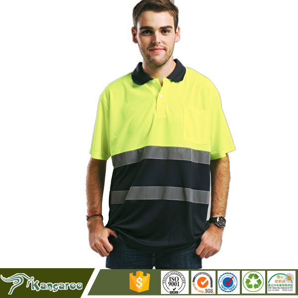 Working Used Work Wear Uniform Breathable Polo Shirts