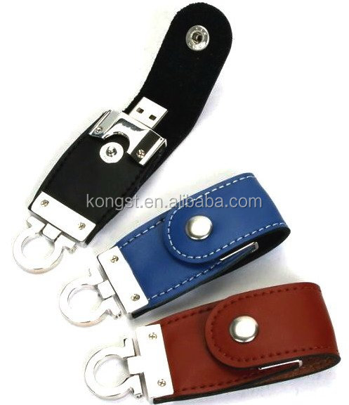 new arrival wholesale leather <strong>usb</strong> 2.0 flash drives 2016