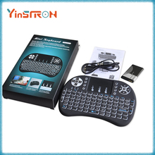 3 Color Backlight Keyboard China Top Ten Selling Products 2.4G Air Mouse Mini Wireless Keyboard Rii i8+ Keyboard With Backlit