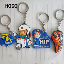 Promotional Soft PVC Keying/Silicone Cartoon Keychain/Rubber key chain