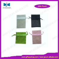 Promotional Colorful Organza Drawstring Pouch