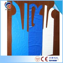 disposable kitchen pe apron disposable adult apron plastic bib apron for cleaning