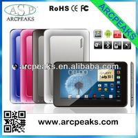 9 inch MTK6577 micromax touch tablet with sim card