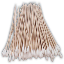 Medical Common Type Wood Stick Cotton Swab